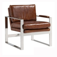Leather Armchair Metal Frame Diamond Chair Replica Vintage Real With For Sale Buy Unique Design Product On