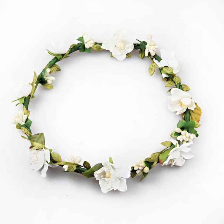 Mode Boho Style Bloemen Haarband Bruiloft Bruids