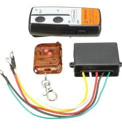 wireless remote control toogoo r electric wireless winch remote control handset 12v heavy [ 1200 x 1200 Pixel ]