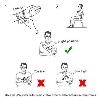 CE FDA Approved Intelligent Digital Wrist Blood Pressure
