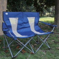 Double Seat Folding Chair Director Covers Target Camping For Adult Buy