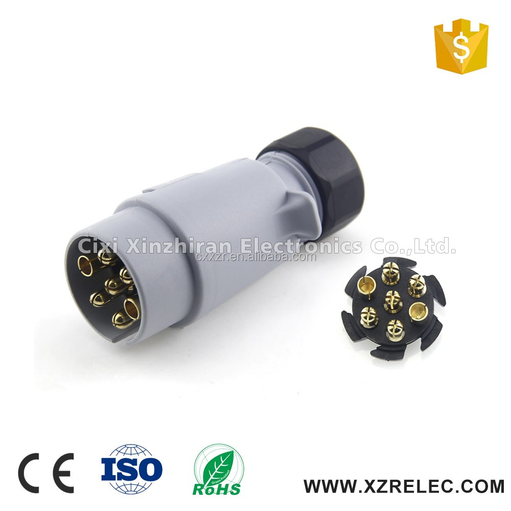 medium resolution of 7 pin small round wiring diagram trailer plug