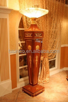 living room standing lamp bungalow decorating ideas electric wooden stand floor decorative furniture bf02 6049
