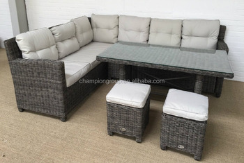 rattan garden corner sofa sets best vacuum cleaner wholesale furniture dining table and stool set