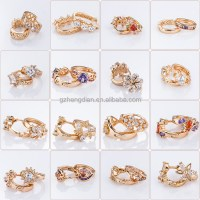 Wholesale Newest Design Fashion Round 18k Gold Plated ...