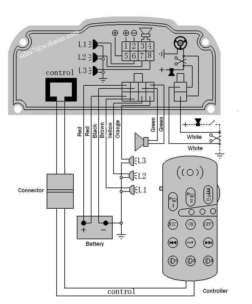 hight resolution of  cjb w siren wiring diagram on