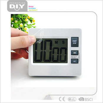 digital kitchen timers storage hutch mudder 4 pack magnetic timer 24 hours clock with loud alarm and big