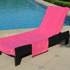 Beach Towels With Pocket For Lounge Chair Wholesale Lycra Covers Australia Cheap Cover Towel Find Get Quotations Perfect Or Pool Convenient Storage Pockets