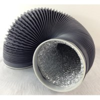 10m Exhaust Fan Pipe Ventilation Pipe Aluminum Foil Duct