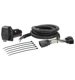 get quotations curt manufacturing 56278 custom vehicle to trailer wiring harness provides a 7  [ 1500 x 1500 Pixel ]