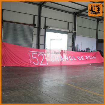 fabric flying banner fabric