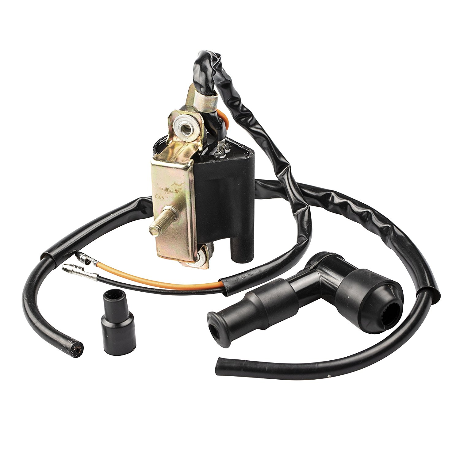 hight resolution of get quotations 2wc ignition coil for baja atv 49cc 50cc 49 50 ba50 dirt bike dr49