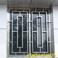 New Simple Iron Window Grill Design - Buy Steel Window ...