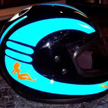 Reflective Motorcycle Helmet Decals And Stickers Best Helmet - Reflective helmet decals stickers