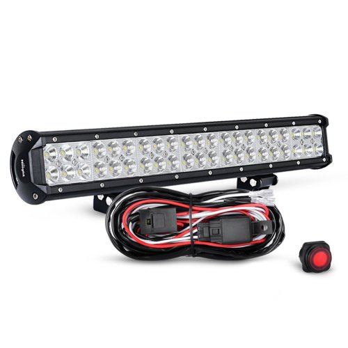 small resolution of get quotations nilight zh006 20 126w spot flood combo led light bar work light off