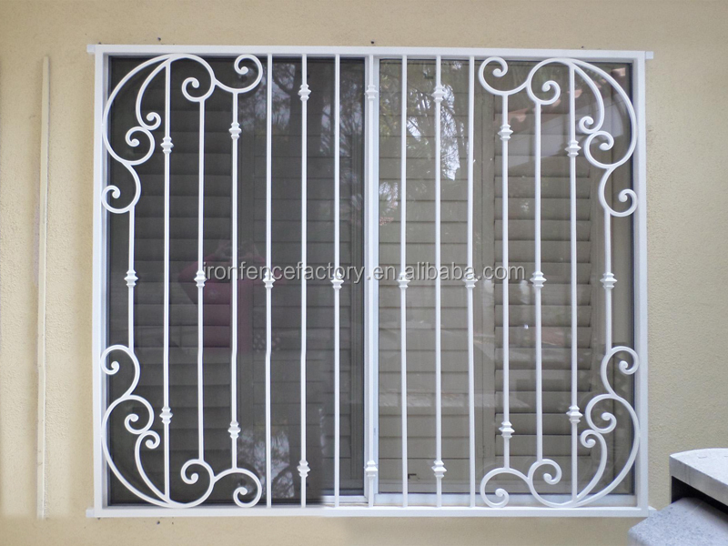 2016 Decorative Iron Window Grill Design/aluminium Windows