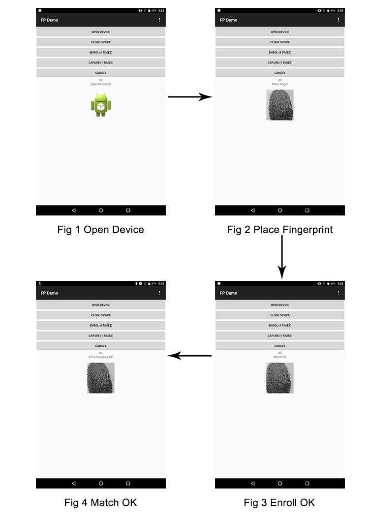 Fbi Tcsi Capacitive Election Project Finger Print Scanner