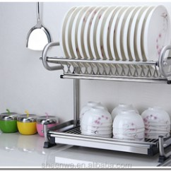 Kitchen Drying Rack Bronze Faucet Stainless Steel Dish 2 Tier Buy