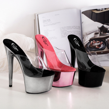 Leecabe Latest Stripper Shoes Ladies Fancy Heel Sandals Cheap Price High Heel Sandals Girls Extreme High