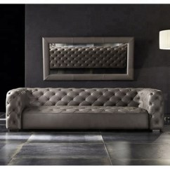 Tufted Leather Sofa Cheap Low Lying Designs Modern Italian Living Room Sofas Genuine Buy