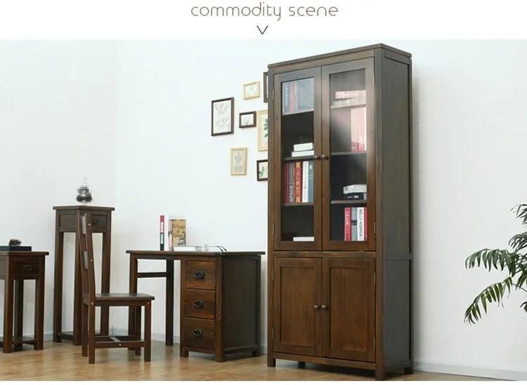 armoire de rangement en bois massif etagere pour livres meubles de salon buy etagere a livres en bois massif armoire de rangement en bois meuble de