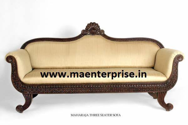 India Wooden Sofa Set Designs