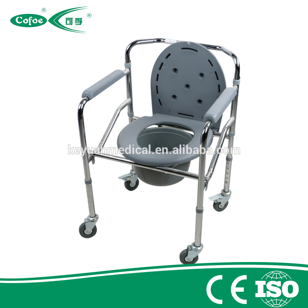 Bedside Commode Chair Cofoe Aluminum Lightweight Kursi Toilet Commode Chair With Wheelchair Bedside Commode Buy Aluminum Lightweight Commode Chair Commode Chair With
