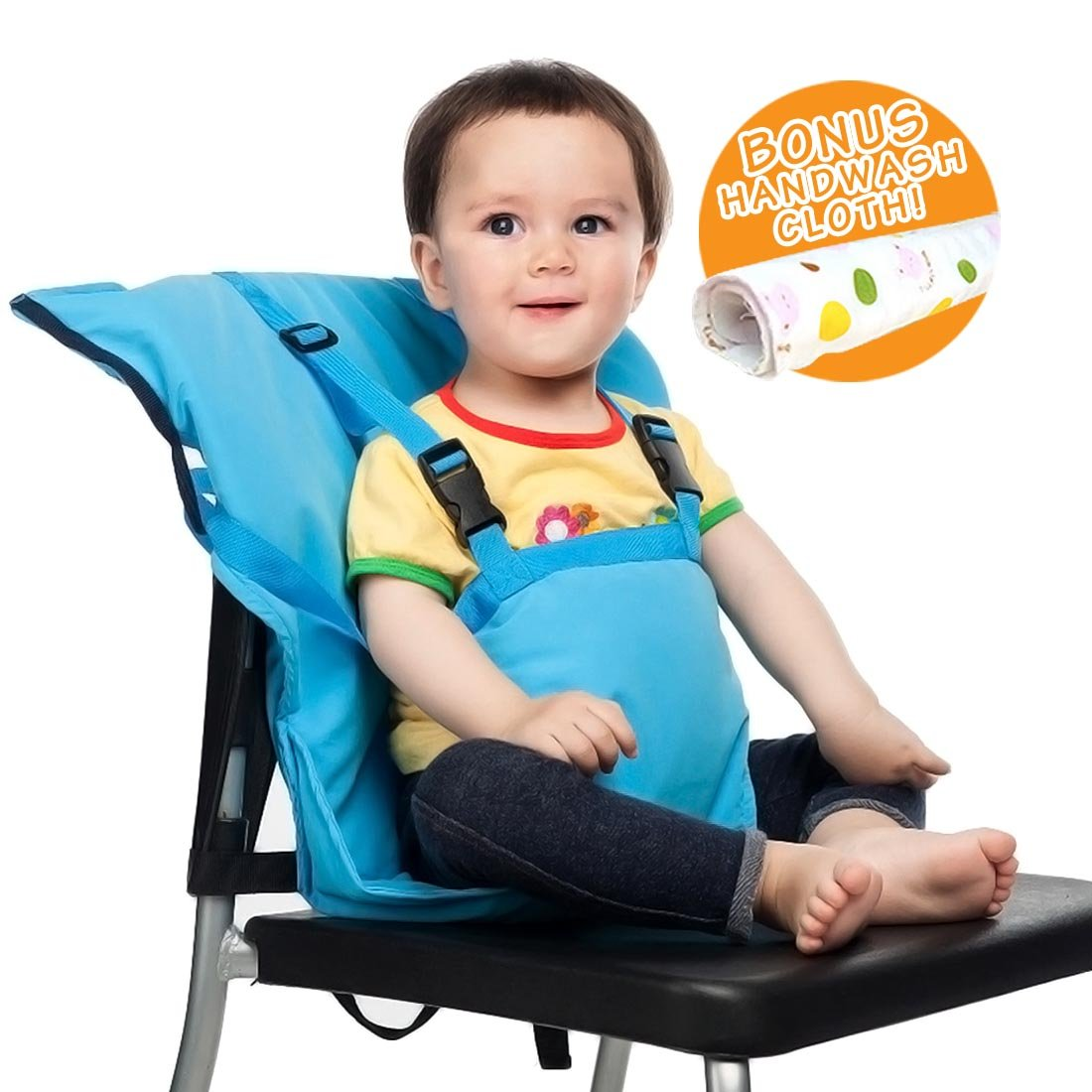baby chair carrier universal dining room covers buy feeding high harness colorful portable travel booster safety seat cover sack cushion bag kid toddler size 44 lbs capacity soft cotton