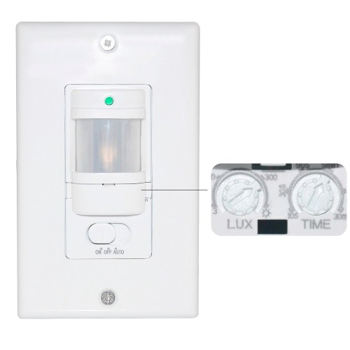 small resolution of smart sensor switch 800 watts motion sensor light switch with 3 wires