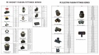 Custom Fabrication Hdpe Socket Fusion Fittings For Water ...