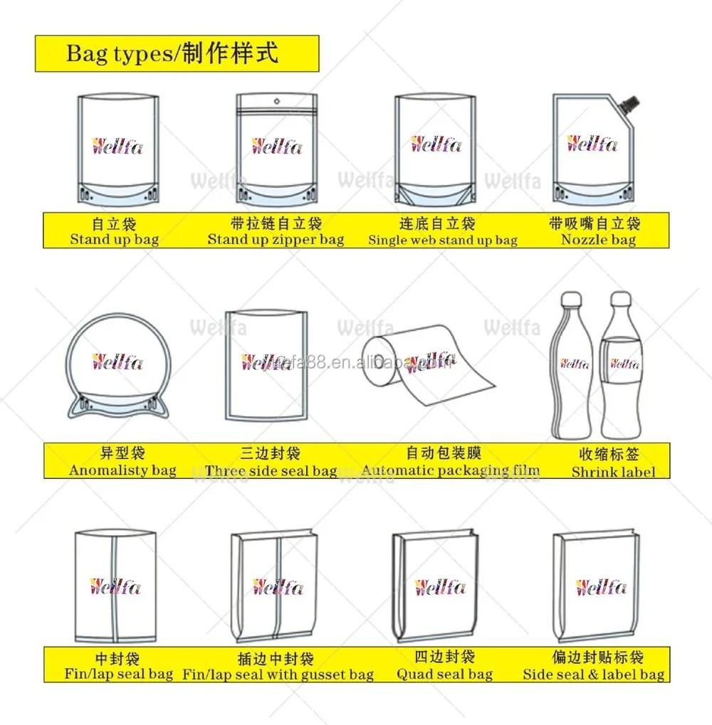 medium resolution of food grade heat resistant plastic bag for boiling