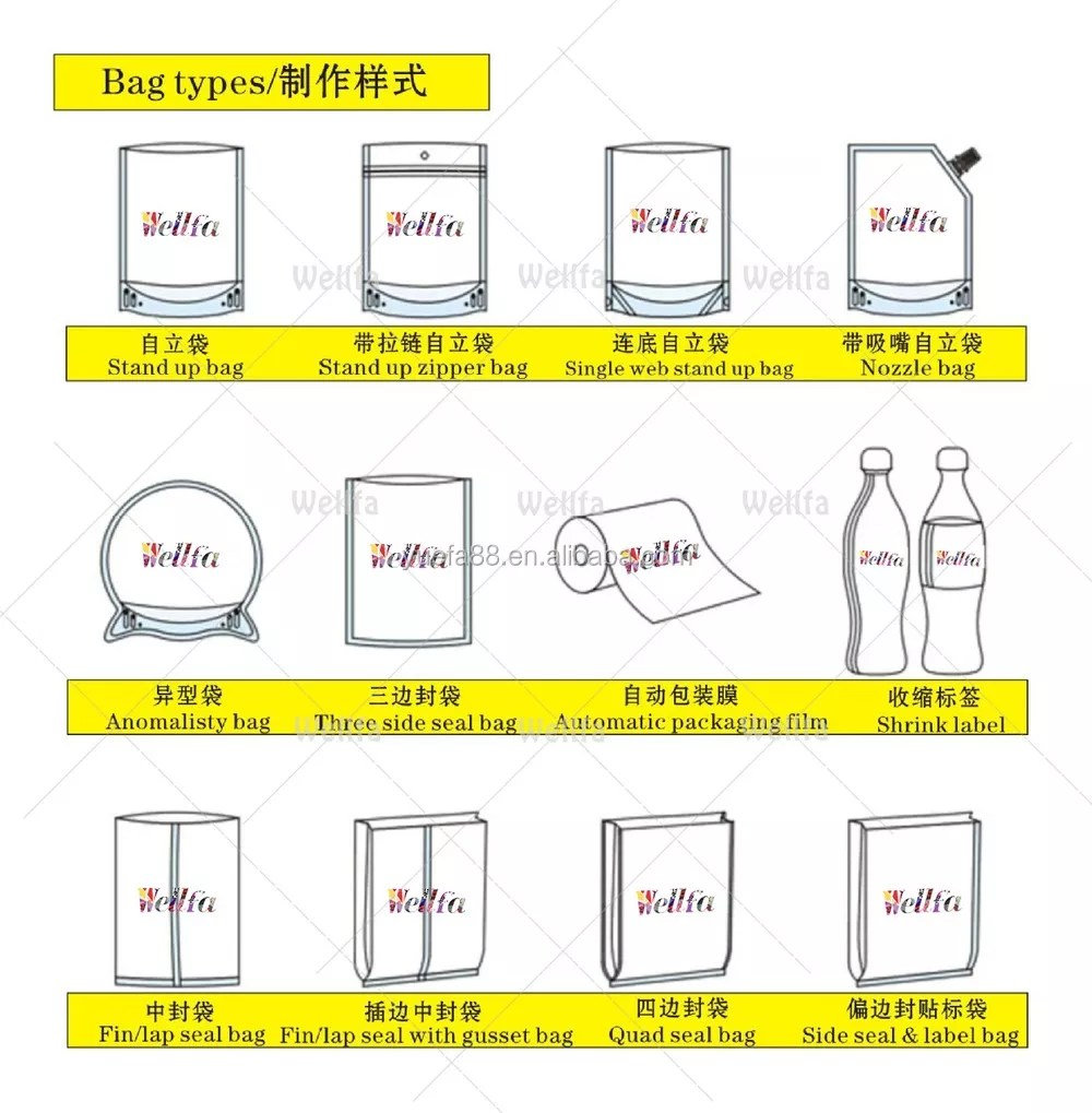 hight resolution of food grade heat resistant plastic bag for boiling