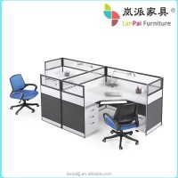 Office Desk For 3 Person Lanpai