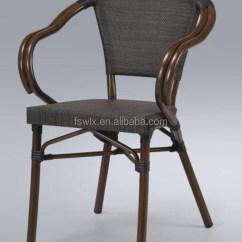 Sling Chair Outdoor High Back Office Lumbar Support Wholesale Modern Aluminium Stackable Fabric
