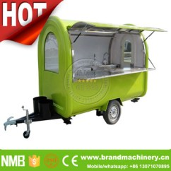 Kitchen Trailer Furniture Sets Towable Small Churrasco 特许经营churros 咖啡快速移动食品厨房拖车出售