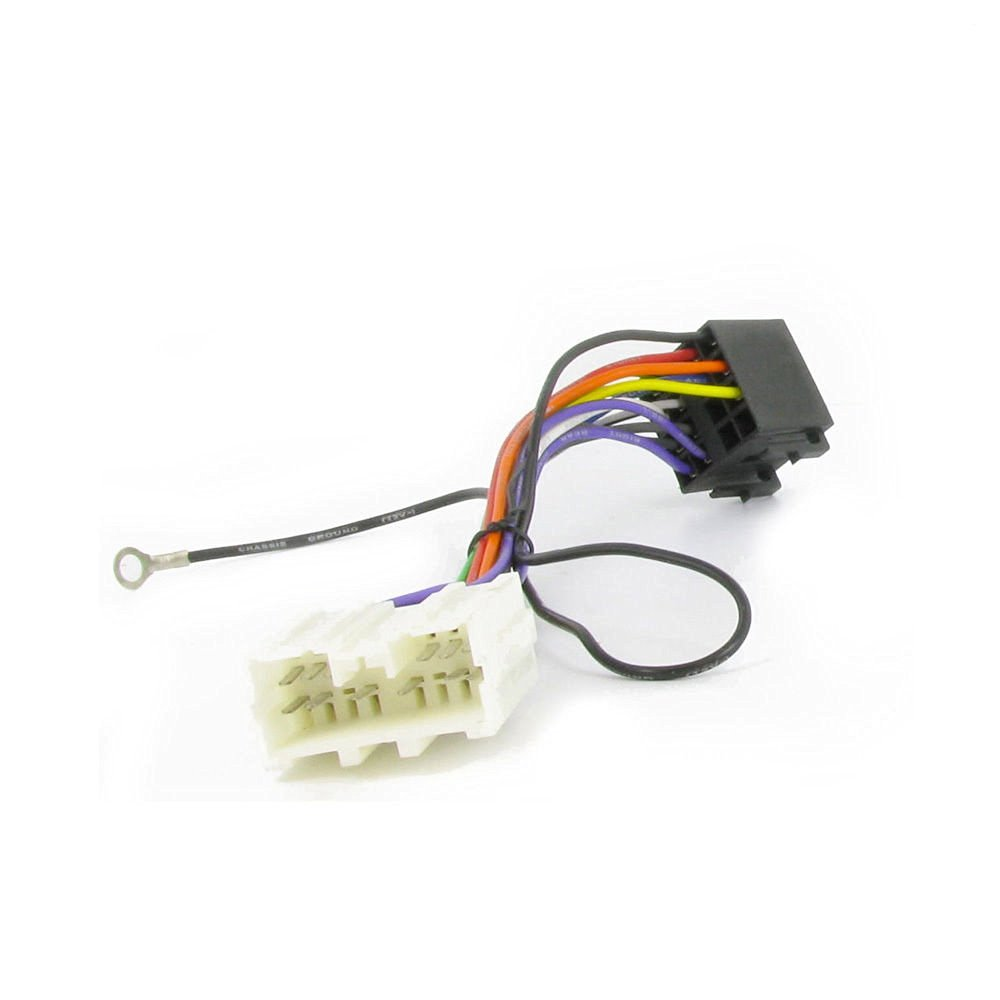 hight resolution of get quotations wiring harness adapter for mitsubishi carisma 1995 iso stereo plug adaptor