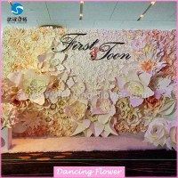 Etapa de la boda decoracin de flores de papel de la boda ...