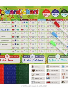 dry erase magnetic flexible whiteboard chore chart reward for kids learning also rh alibaba