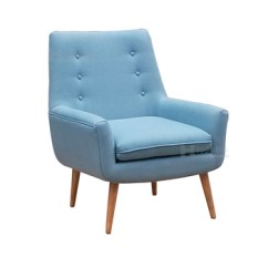 Commercial Sofas And Chairs Living Room Chair Arm Covers European Style Leather Single Sofa With Solid Wood Leg Furniture