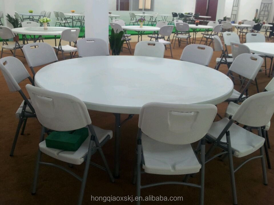 Wholesale Stable Round 6ft Folding Dining Banquet Event