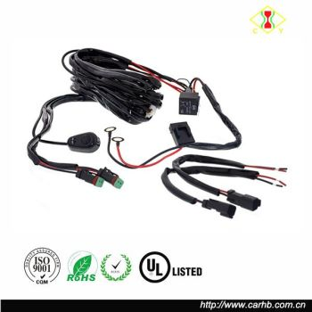 High Quality Led Light Bar Wire Harness With Relay & On