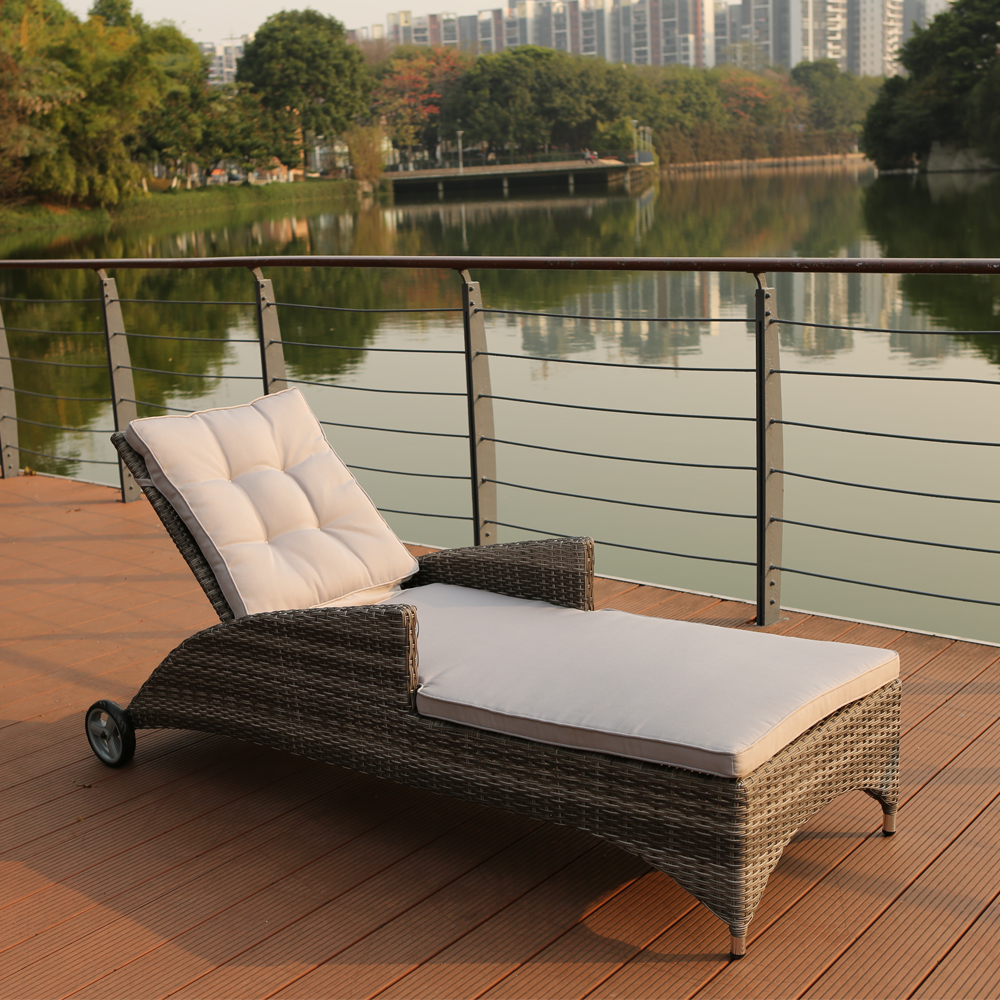Outside Lounge Chairs High Back Wicker Lounge Chair Swimming Pool Garden Rattan Sunbed Lounger Buy Rattan Sunbed Lounger Swimming Pool Lounge Chair Garden Wicker Sunbed