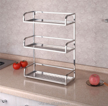 kitchen spice rack black flooring ideas canada style stainless steel racks storage gfr 6d buy commercial