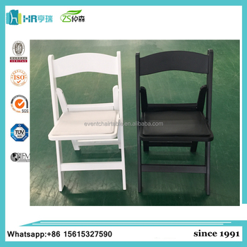 wholesale folding chairs cloth dining resin americana for wedding view