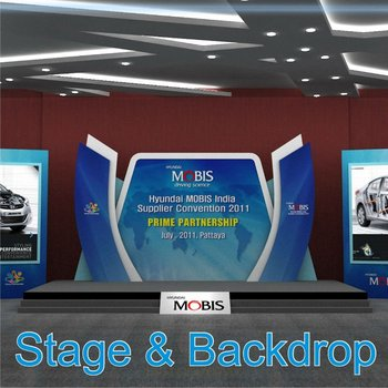 stage backdrop buy event