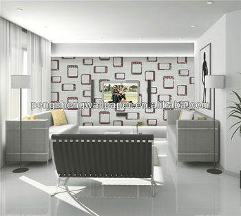 living room decorative items india sunken designs indian home decor wallpaper for tv background buy