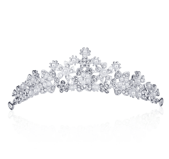 Factory Wholesale Rhinestone Crystal Beauty Pageant Crowns