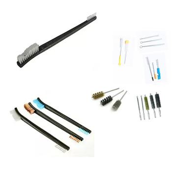 Custom Tube Pipe Cleaner Brush Copper Bristles Double End