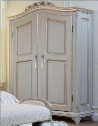Bedroom Furniture Antique Wood Clothes Wardrobe Cabinet ...