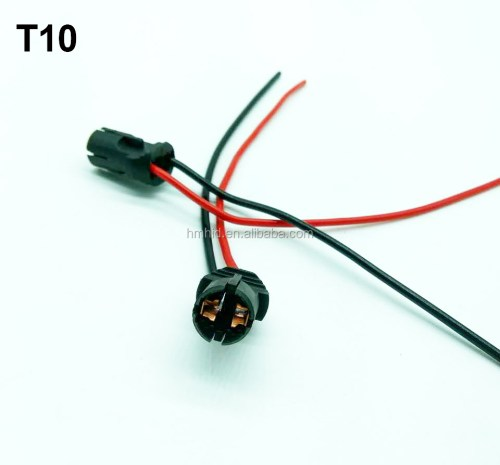 small resolution of oem quality car auto led bulb socket wiring harness t10 1156 1157 t20 h7 h1 bulb
